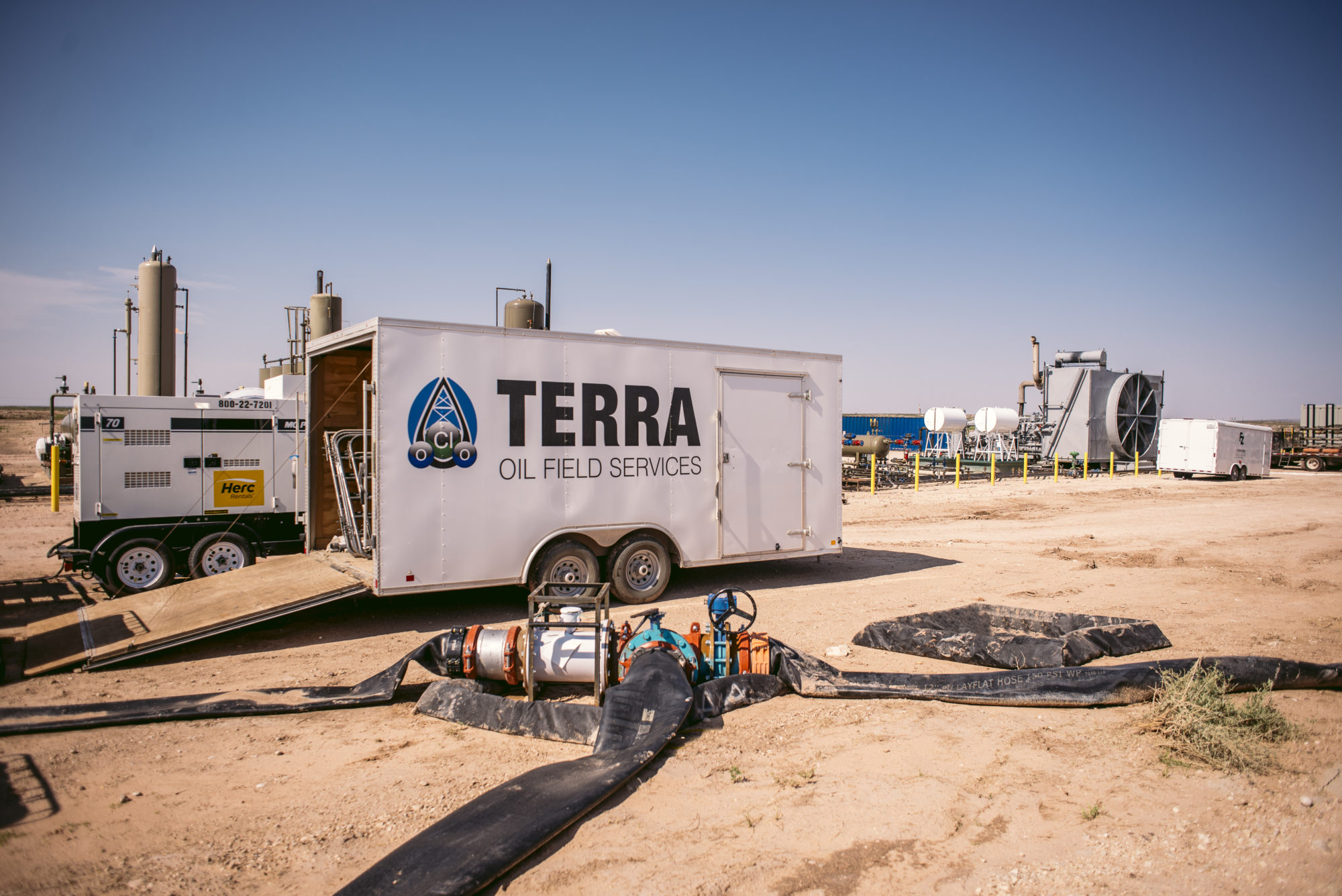 Water Transfer | Terra OFS | Focused on safety and reliability